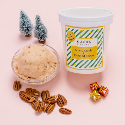 You Won't Believe it's Vegan! Merry Maple & Candied Pecan