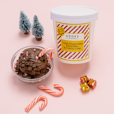 You Won't Believe it's Vegan! X'mas Peppermint Chocolate & Candy Cane