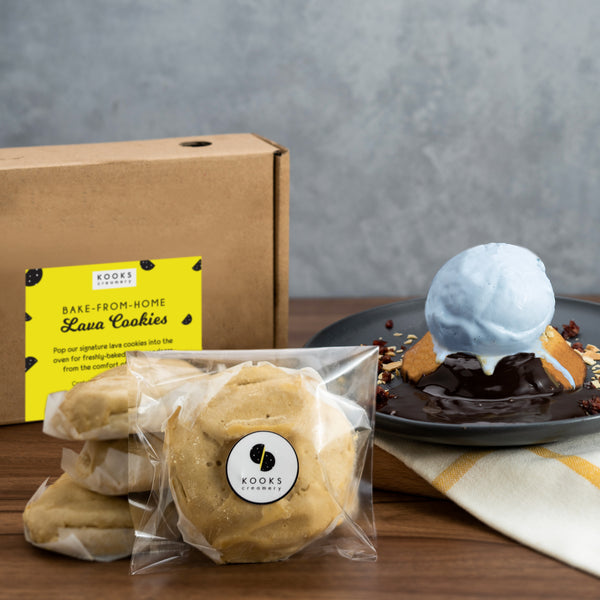 Assorted Lava Cookies & Ice Cream Cooler Bag Bundle (Online Exclusive)