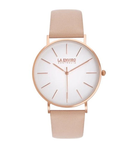 ROSE GOLD WITH PINK STRAP