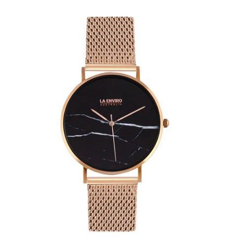 ROSE GOLD WITH ROSE GOLD MESH STRAP