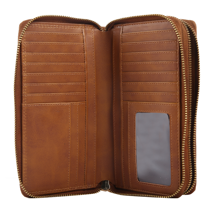 inside view of ESME modern wallet