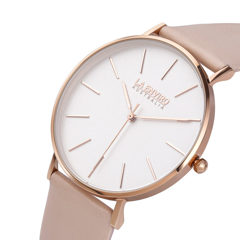 ROSE GOLD WITH PINK STRAP I CLASSIC 40 MM
