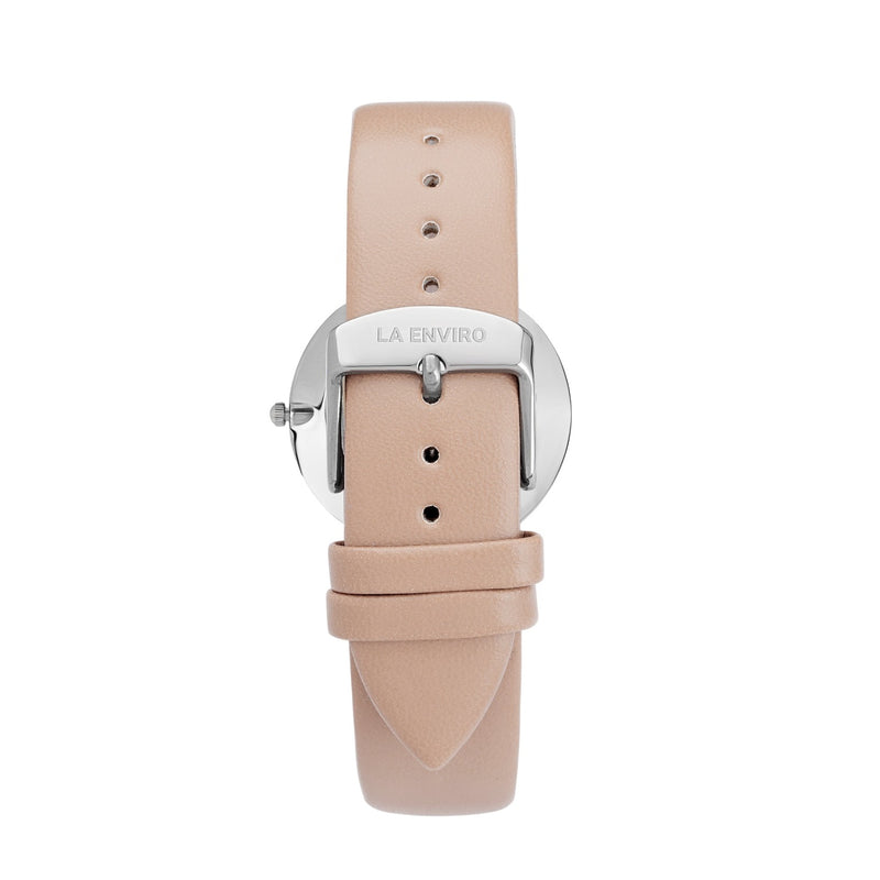 SILVER WITH PINK STRAP I CLASSIC 40 MM