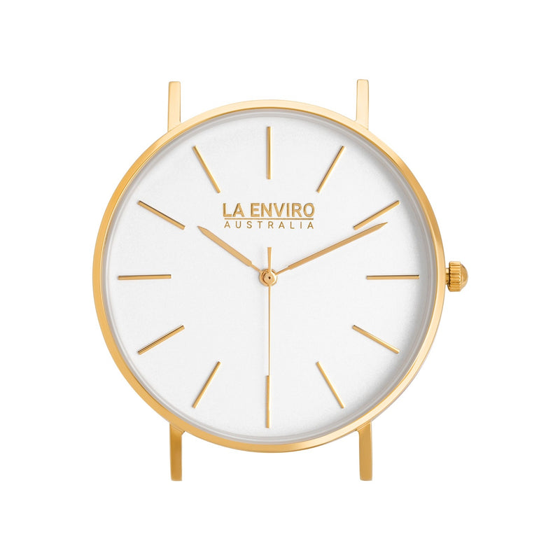 GOLD WITH PINK STRAP I CLASSIC 40 MM