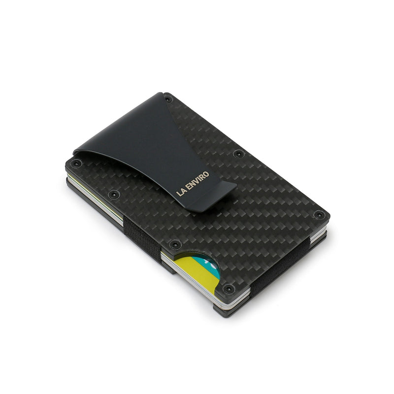Minimalist Unisex Metal Wallet with RFID blocking protection design