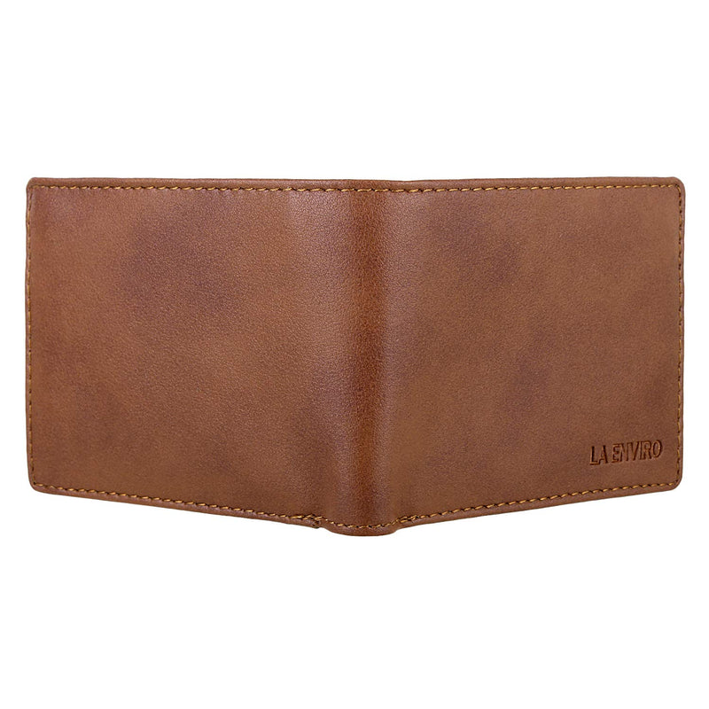Front View of Aron's vegan modern wallet