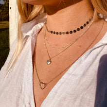 Load image into Gallery viewer, Long Open Heart Necklace