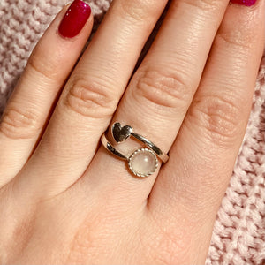 Heart 'Cwtch' Ring