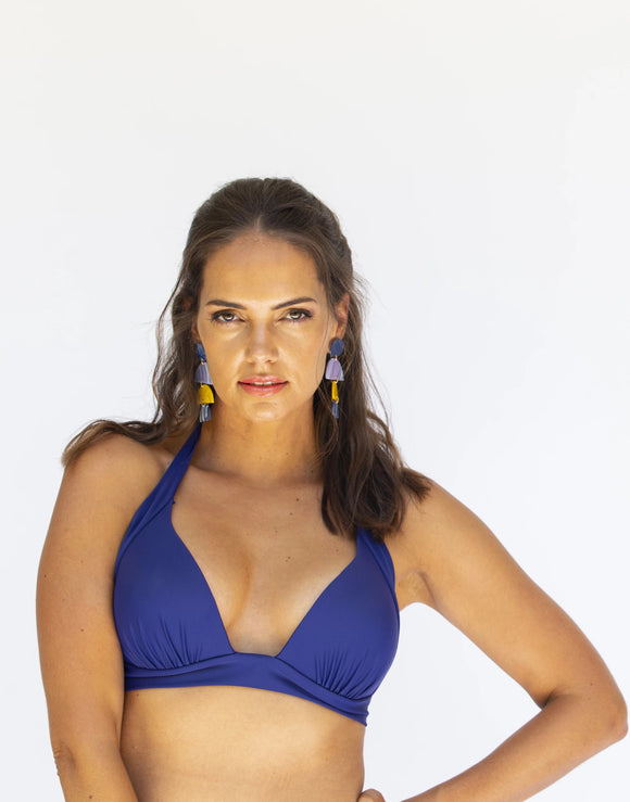 Halter Top - Deep Blu