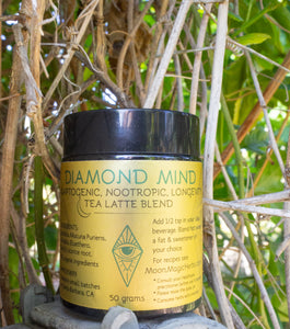 DIAMOND MIND: An Adaptogenic, Nootropic, Longevity Tea Latte Blend