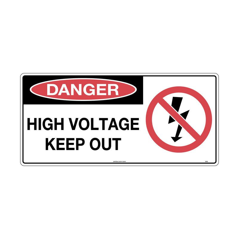 Danger High Voltage Keep Out (with Picture)