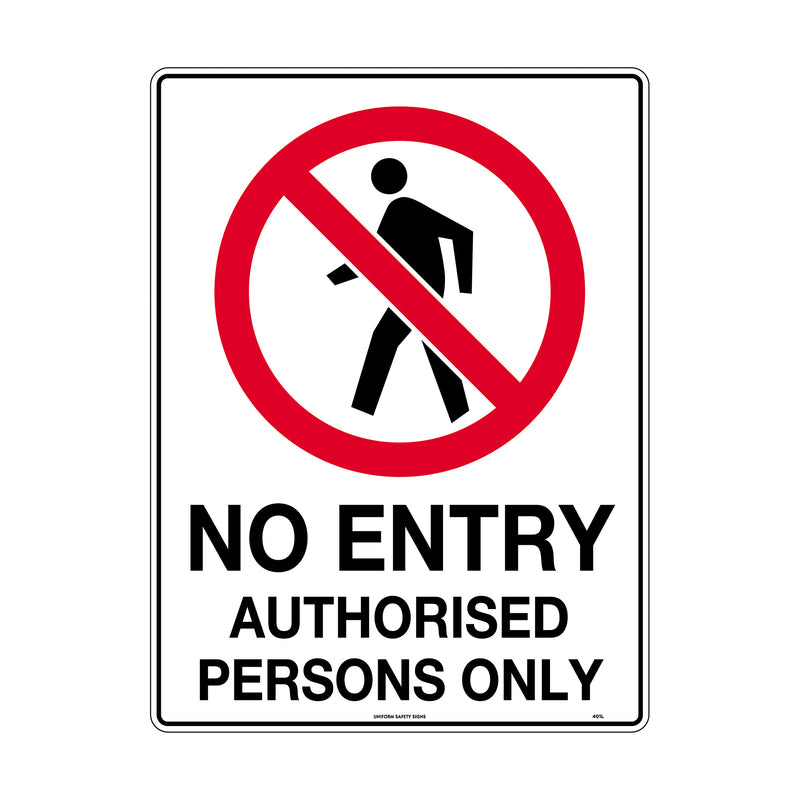 No Entry Pictogram