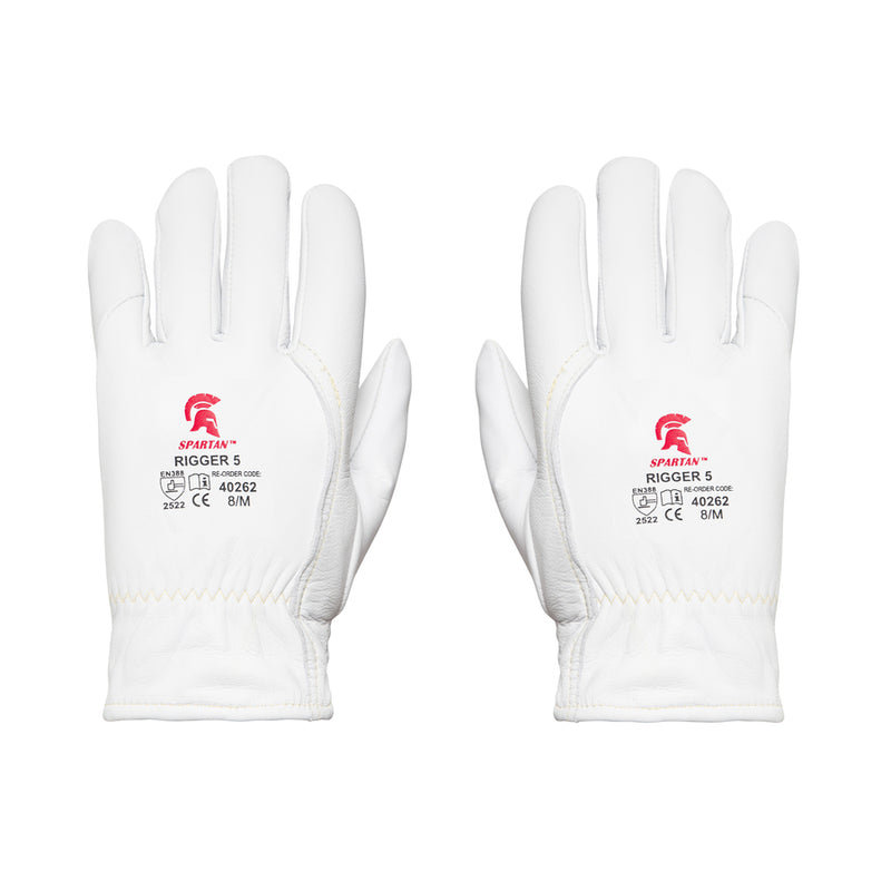 SPARTAN Leather Rigger Cut 5 Gloves