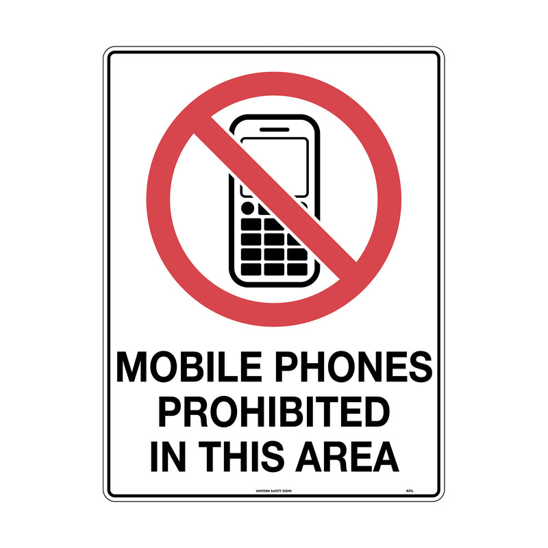 No Mobile Phones Pictogram