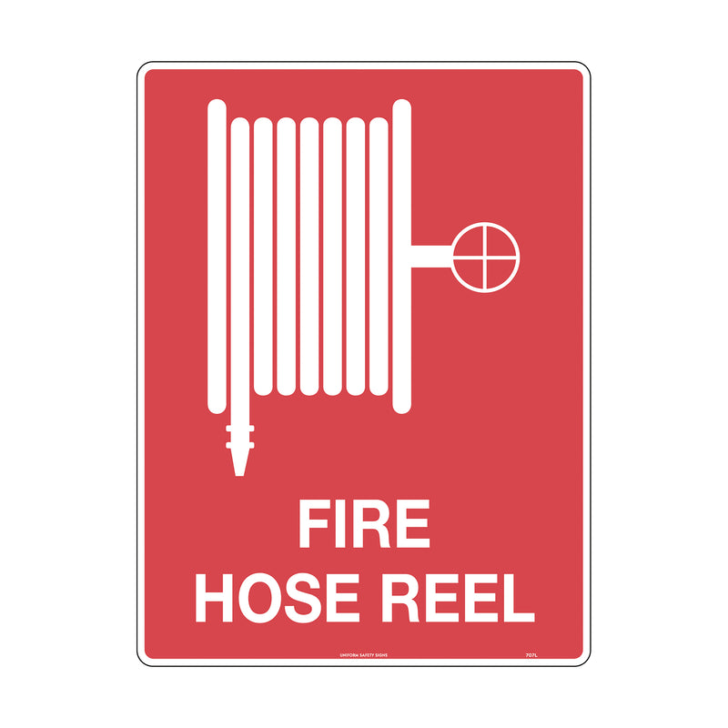 Fire Hose Reel (with pictogram)