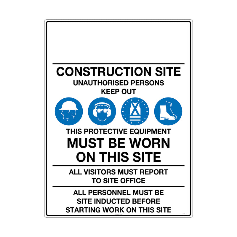 Construction Site Safety Requirements (Customer Logo:____)