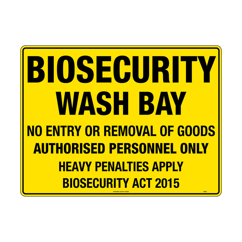 Biosecurity Wash Bay
