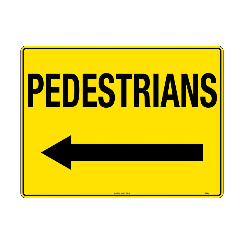 Pedestrians (Arrow Left)