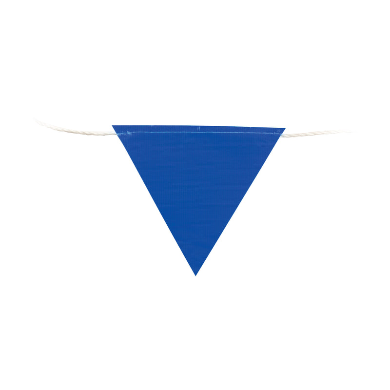 Blue Bunting Flags (30mtr Roll)