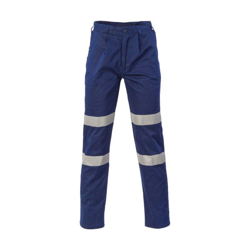 DNC Cotton Drill Cargo Trousers, Mid Weight with Tape