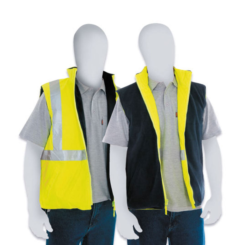 Safety Vest, Fleece Lined