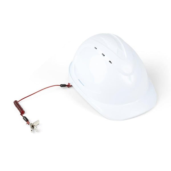 Coil Hard Hat Tether