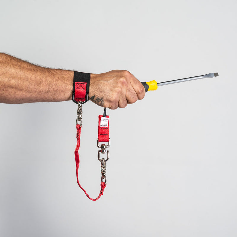 Slip-On Wrist Anchor With Tool Tether