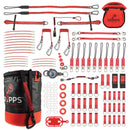 60 Tool Tether Kit With Bull Bag And Bolt-Safe Pouch