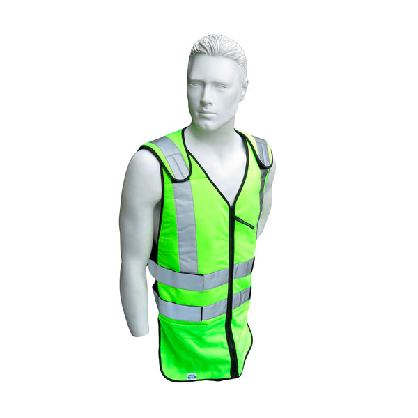 TECHKEWL Phase Change Cooling Vest,  Hi Vis