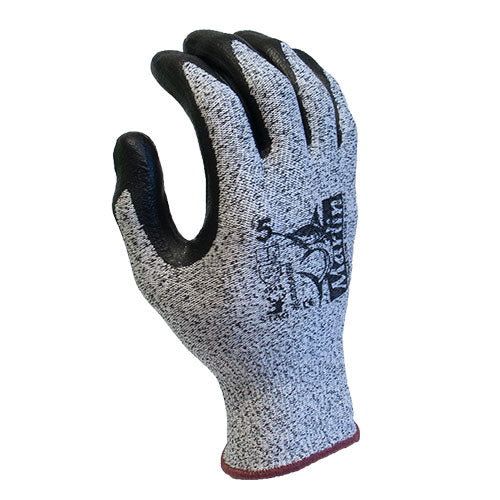 MARLIN Cut 5 13G Dyneema/Lycra Glass Fibre Glove, Grey