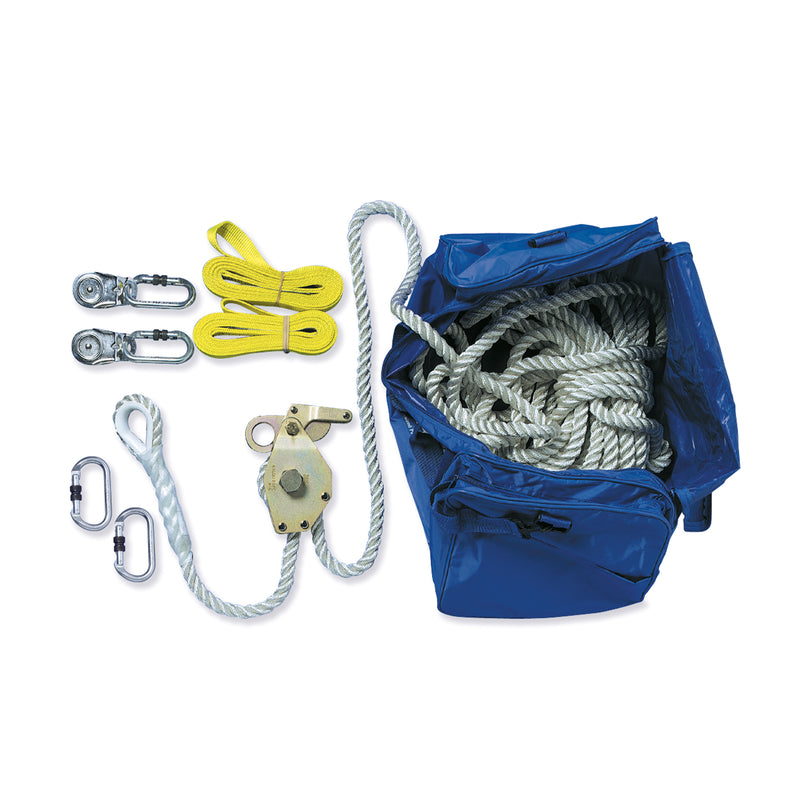 Temporary Static Line Polyester Rope 2 Person, 20M