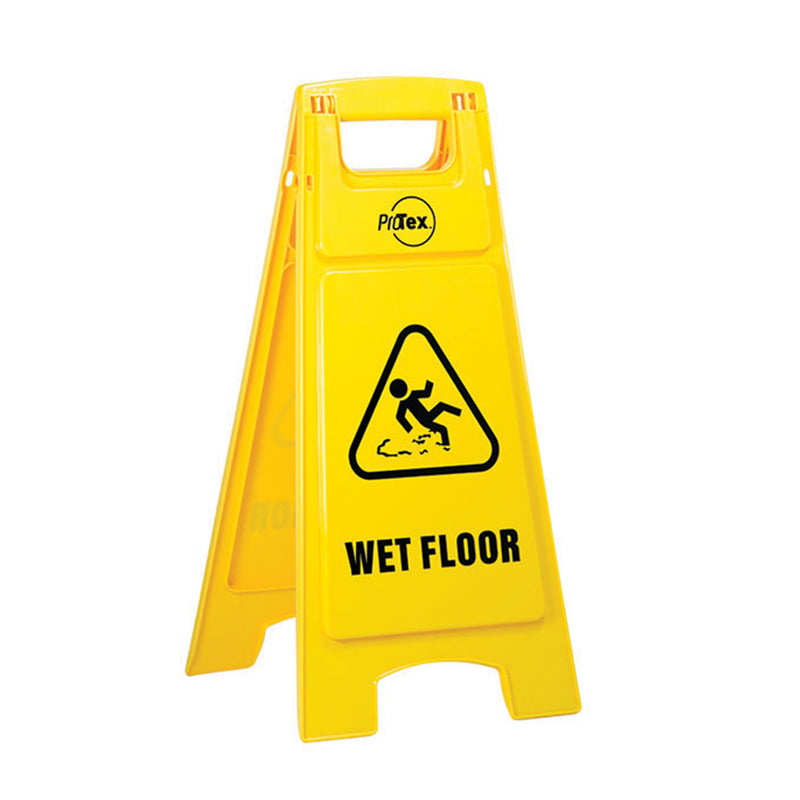 Wet Floor - Premium Plastic Sign Stand