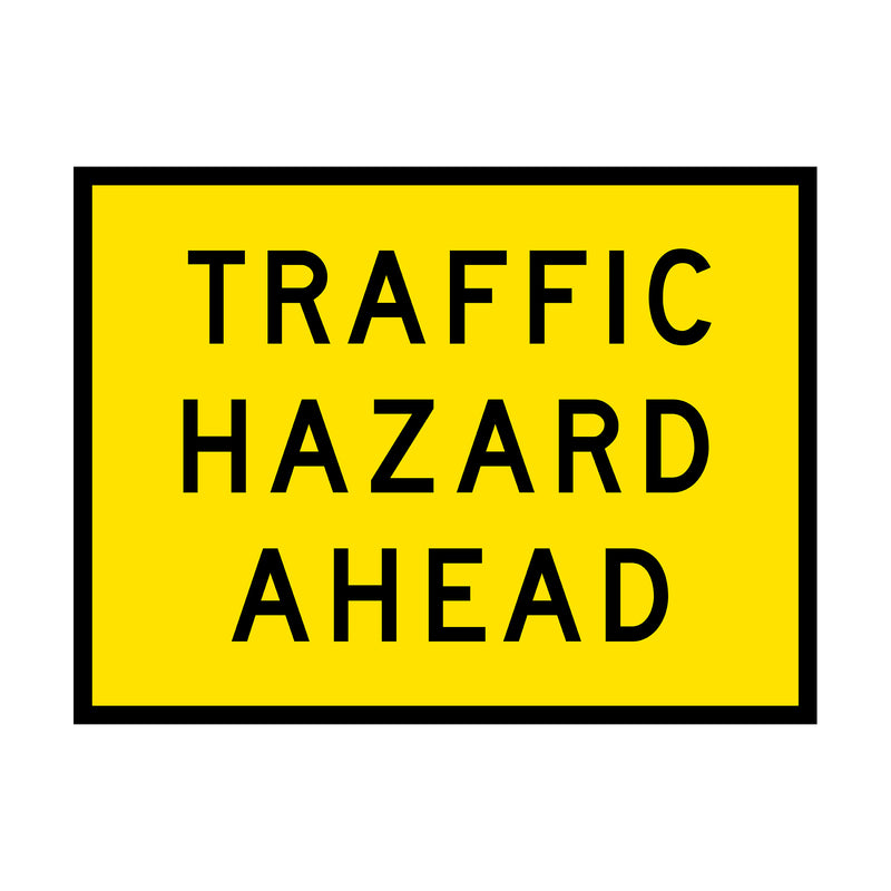 Traffic Hazard Ahead