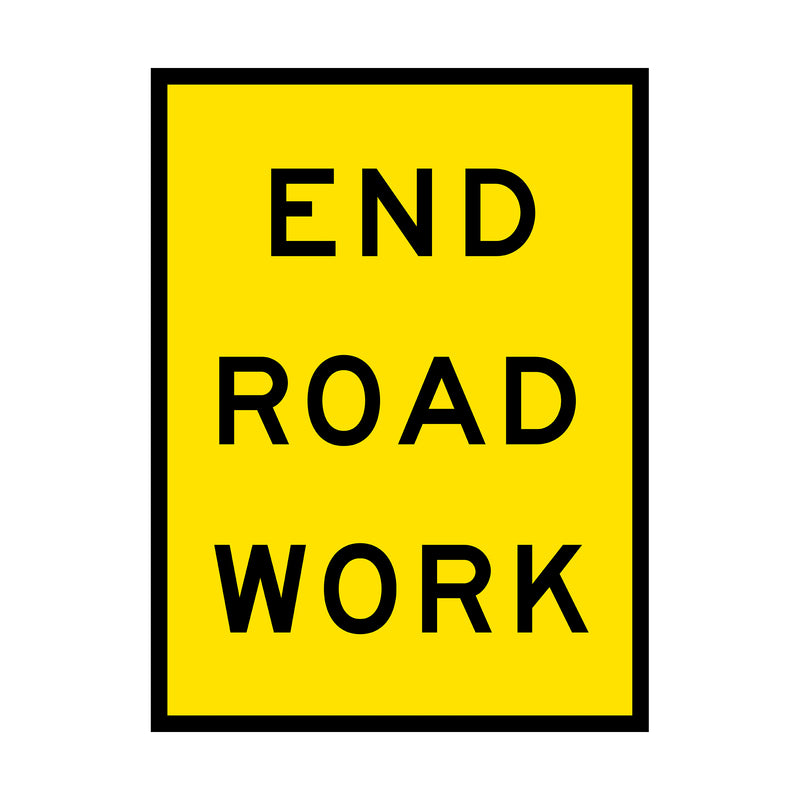 End Road Work
