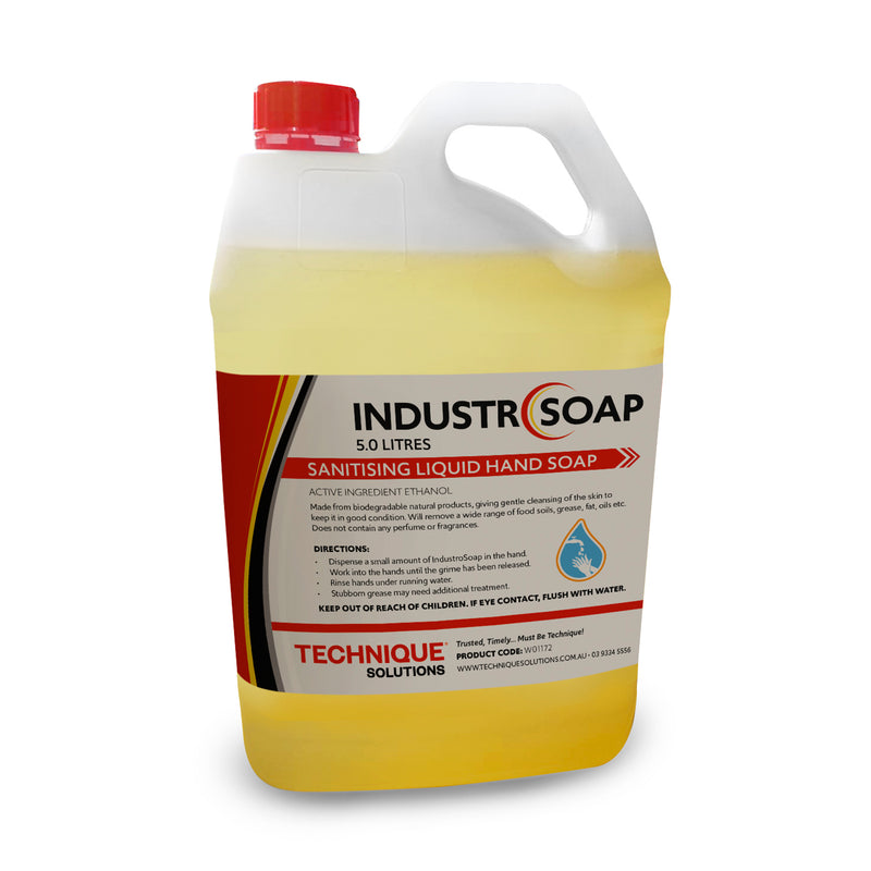 IndustroSoap 5L - Sanitising Liquid Hand Soap