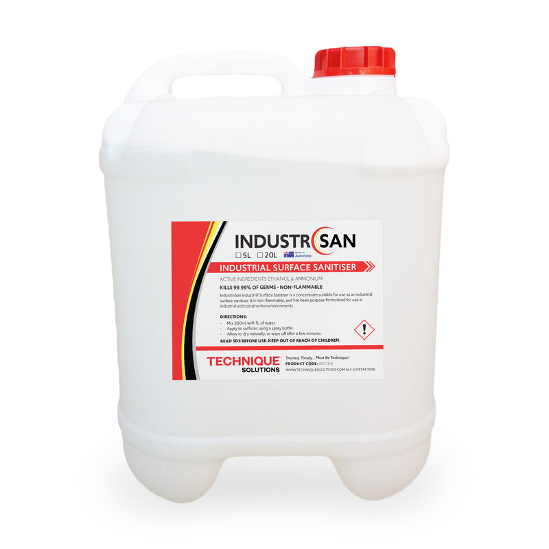 IndustroSan - Industrial Surface Sanitiser Concentrate