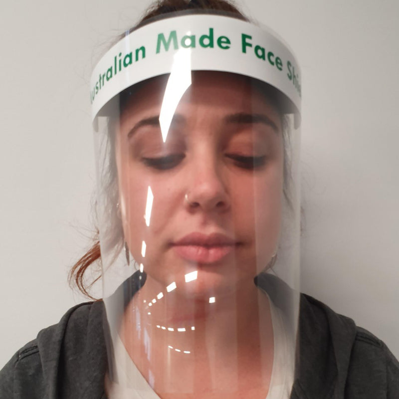 Face Screen with Head Band