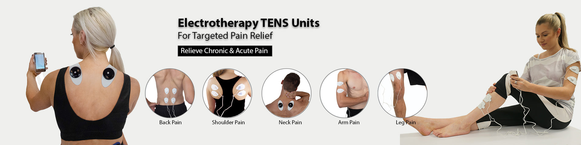 Targeted Pain Relief TENS | HealthmateForever