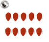 5 Pairs (10 Pcs) Red Pin-Insert Large Hand-Shaped Pads - HealthmateForever