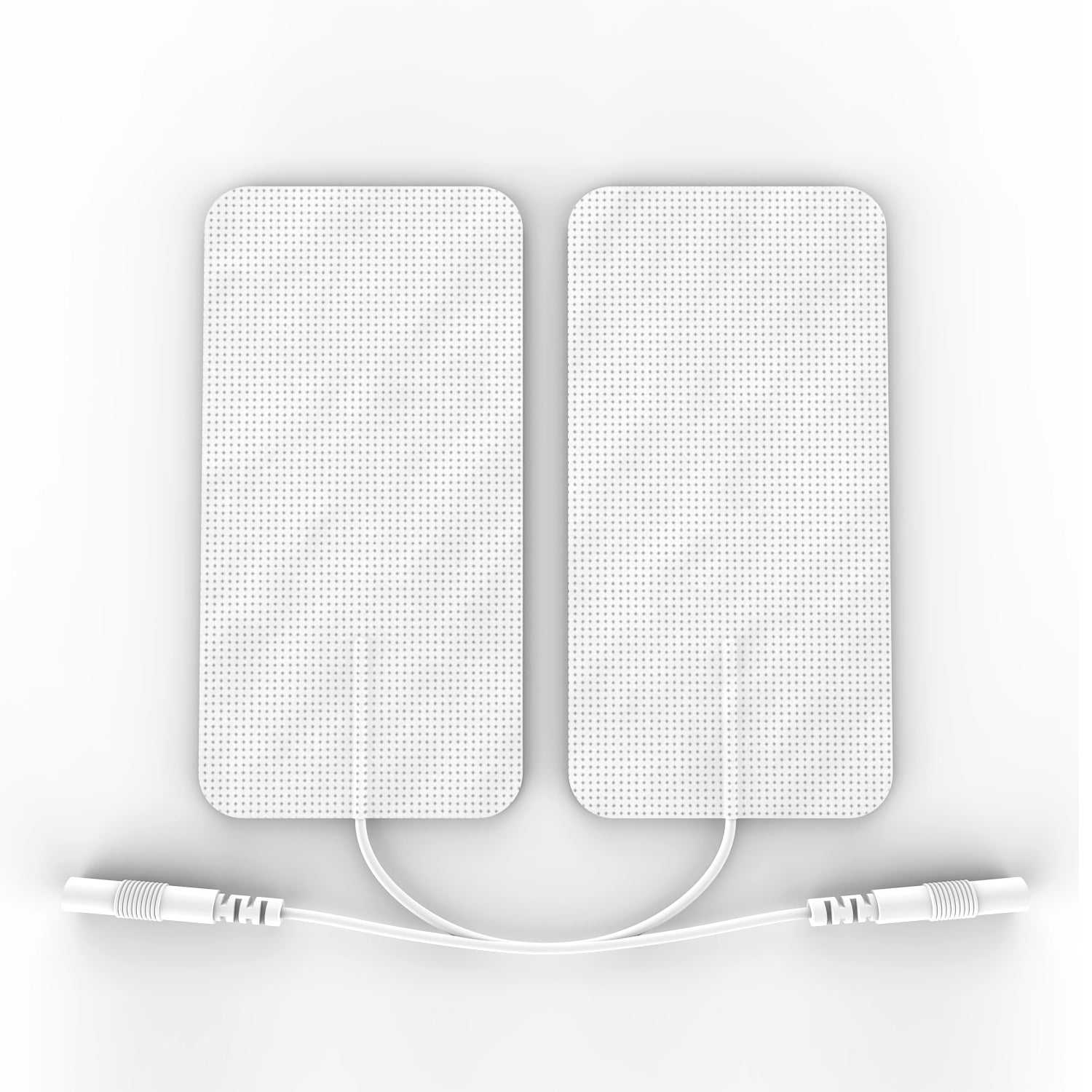 5 Pairs (10 Pcs ) White Pin-Insert Large Rectangle-Shaped Pads - HealthmateForever.com