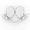 Pair of Pin-Insert Large Oval-Shaped Pads - HealthmateForever