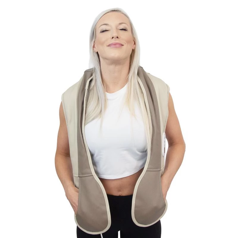 Remote controlled HealthmateForever Neck Shoulder and Back Massager with Heat P016(SHIP TO USA ONLY) - HealthmateForever.com