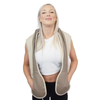 Remote controlled HealthmateForever Neck Shoulder and Back Massager with Heat P016(SHIP TO USA ONLY) - HealthmateForever