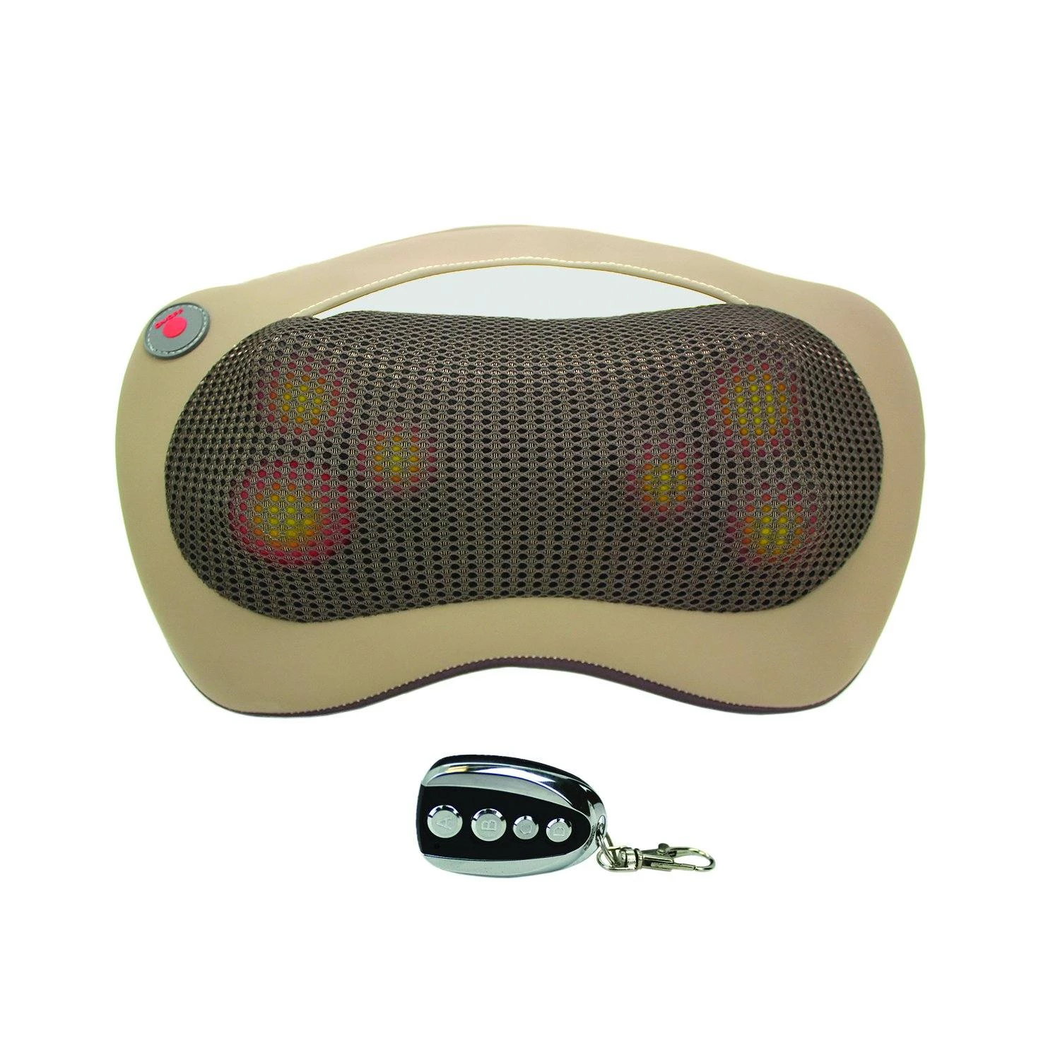 Remote controlled HealthmateForever Shiatsu Full body massage pillow with heat (SHIP TO USA ONLY) - HealthmateForever.com