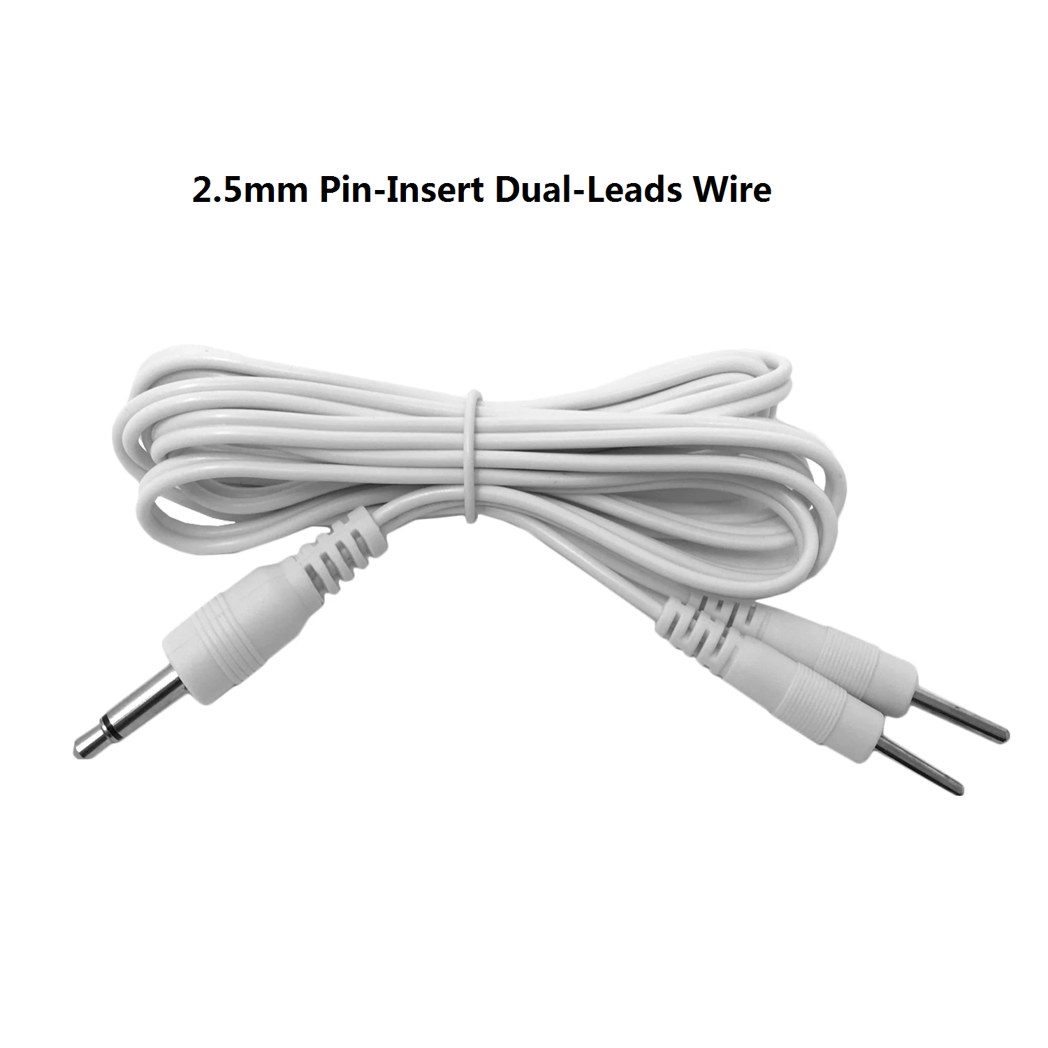 2 Sets of Pin-Insert Dual-Leads Electrode Wires - HealthmateForever