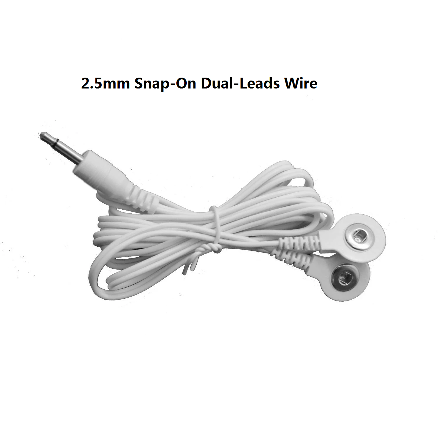 2 Sets of Snap-On Dual-Leads Electrode Wires - HealthmateForever