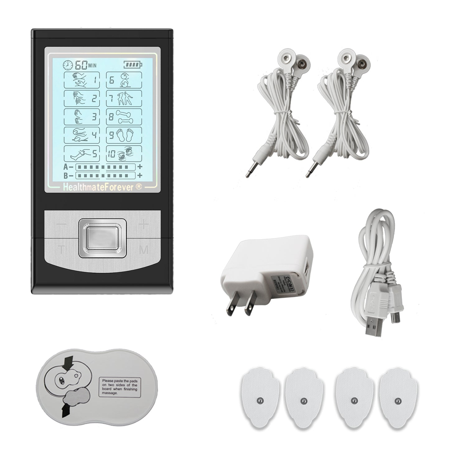 NK10AB TENS Unit & Muscle Stimulator - HealthmateForever