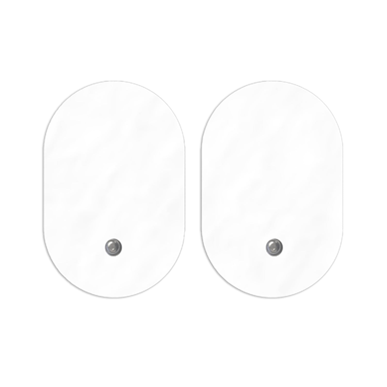 Pair of Snap-On Large Oval-Shaped PET Pads - HealthmateForever