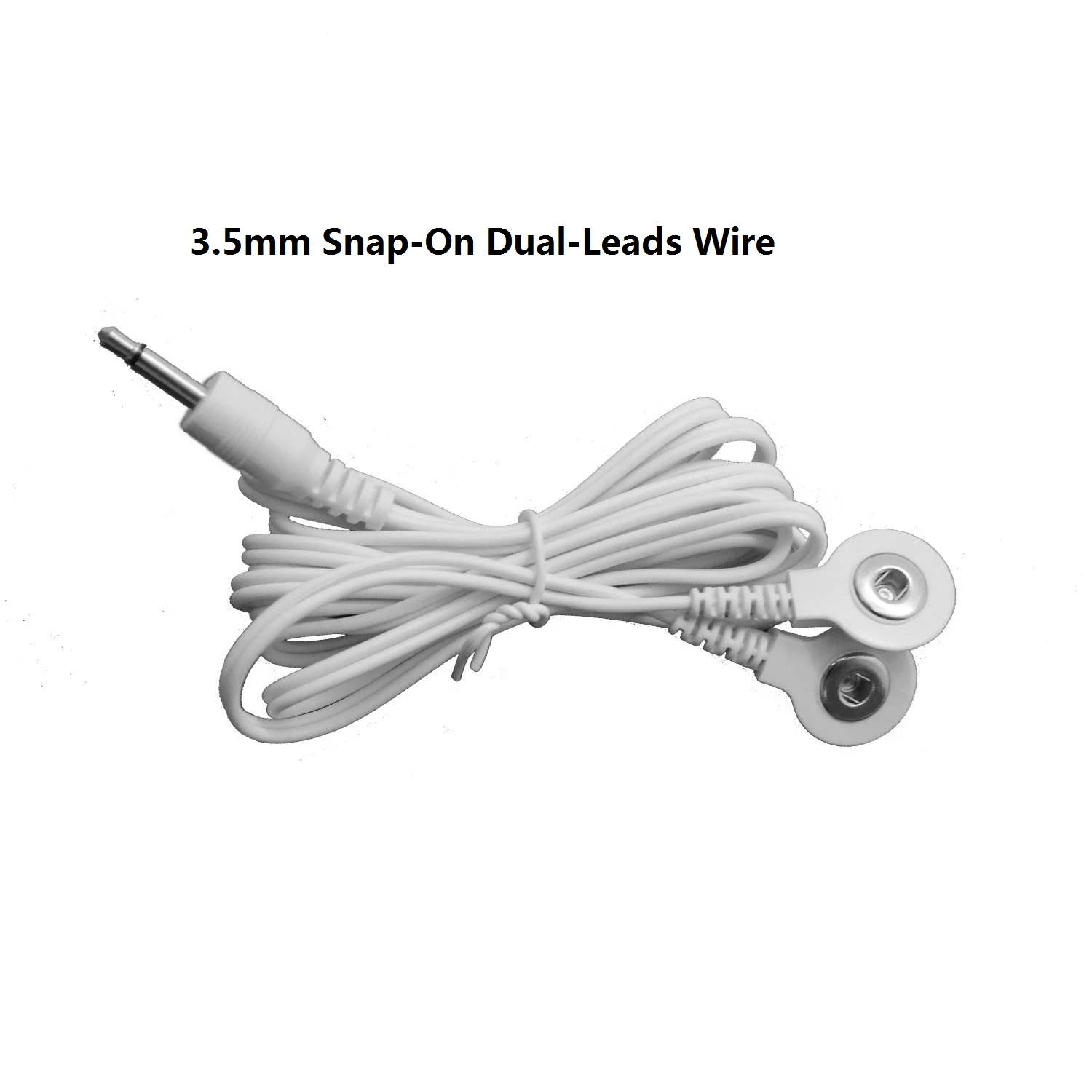 Snap-On Dual-Leads Wire